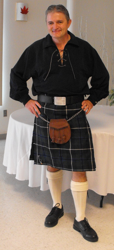 The Kilted one!